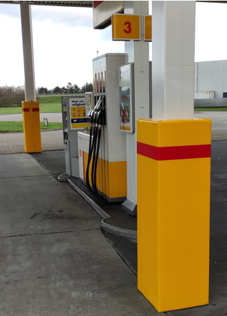 SHELL FUEL STATION Pilar Protection