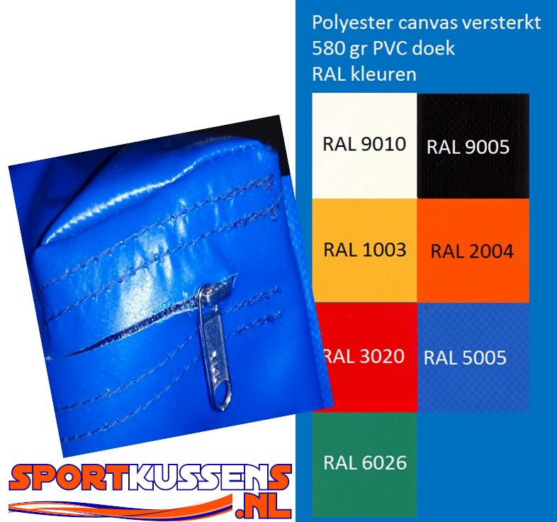 PVC doek standaard kleuren